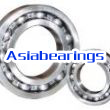 Deep groove ball bearings and structural features of the classification